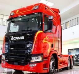Scania 450 6x2 - Série Herois Da Estrada - 2021