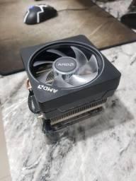 Título do anúncio: Aircooler Wraith Prism AMD AM4 RGB