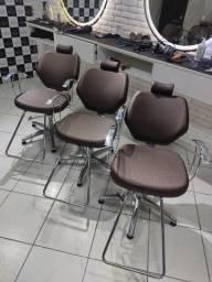 Título do anúncio: Cadeiras Hidráulicas Reclináveis Haisan