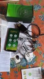 Vendo Moto G7 Power, Documento e todos acessórios