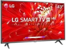 Tv smart 43 com inteligência artificial Wi-Fi