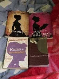 Kit livros Jane Austen
