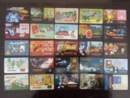Título do anúncio: 25 Cartões Telefônicos - Série Completa - Looney Tunes