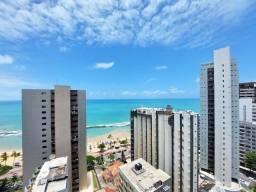 Título do anúncio: Apartamento com 3 quartos para alugar, 96 m² por R$ 3.800/mês com taxas - Boa Viagem - Rec