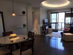 Apartamento com 2 dormitórios para alugar, 88 m² por R$ 3.300,00/mês - Ingá - Niterói/RJ