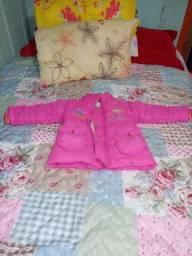 Jaqueta infantil feminina seminova