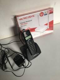 Roteador Seminovo  usado apenas um mês e Aparelho Telefone Fixo sem fio
