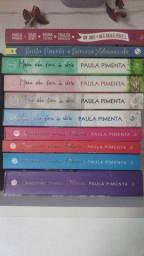 Livros Paula Pimenta ( Fazendo meu filme e minha vida fora de série)