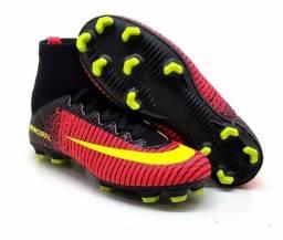 Chuteira de Campo JuvenilChuteira Nike Mercu Mercurial Nike Masculina e  Feminina - Botinha 695c794e2799e
