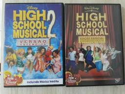 Vendo DVD High Scholl Musical 1 e 2