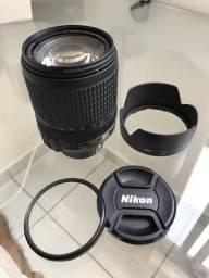 Lente nikon 18-140 (com filtro UV) - pouco usada