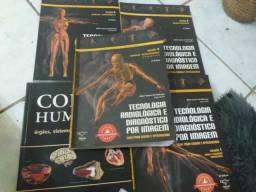 Livros de Tec.em radiologia e Tecnologo,bem conservados,todos por 50,00