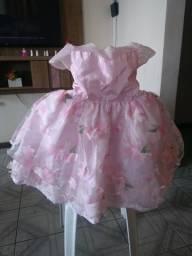 Vestido infantil de festa 02 anos