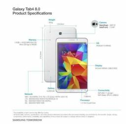 Samsung Galaxy Tab 4 Pro Tela 8 4g E 3g E Wifi S Tablet Novo