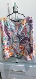 Blusa Colorida M