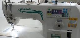 Máquina de Costura Reta Industrial Eletrônica Bracob, direct drive