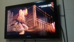 """Tv Samsung LCD 39"""" com.controle zerada 500,00"""