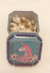 Porta jóias personalizados com pedraria