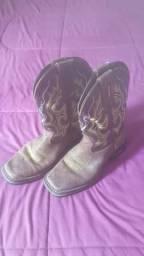 Bota Cowboy Infantil Couro Durango