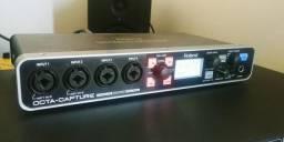 Vendo ou troco interface de áudio