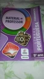 Livro De Língua Portuguesa Material do professor 9° Ano Saraiva Ético