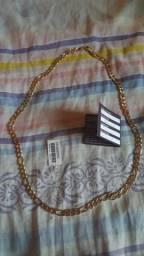 Vende se esse cordão banhado ouro e 3 camada