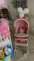Vendo ou troco carrinho de bebê por um andaja