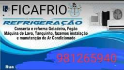 Promoção limpeza de central de ar 70 reias e 80 reais refrigeração FicaFrio