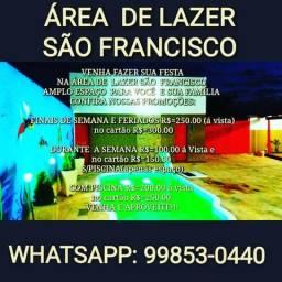 Alugo Area de Lazer São Francisco