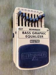 Pedal Behringer Bass equalizer