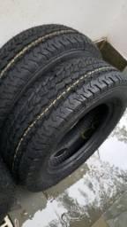 2 pneus 205 70 15 carga van 8 lonas remold, usado comprar usado  Rio de Janeiro