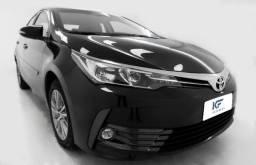 Toyota Corolla 1.8 Gli Blindado 2018 Flex Automático Marrom Completo - 2018