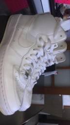 Nike air force branco mid 07