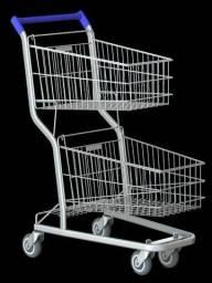 Para supermercado, carrinhos Amapá Novos - diferentes modelos