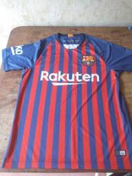 Vendo camisa do barcelona primeira linha