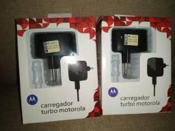 Carregadores turbo power motorola