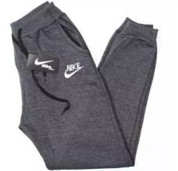 Calça Moleton Nike Cinza, Tamanho M