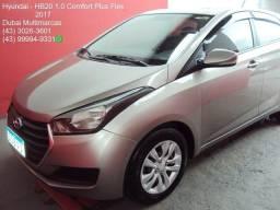 2017 - Hyundai HB20 Comfort Plus 1.0 Flex - Completo - 2017
