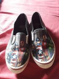 Sapato vingadores