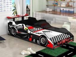 Cama Infantil Formula 1 - Entrega e montagem Na Hora