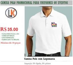 Camisa Polo Personalizada com sua Logomarca