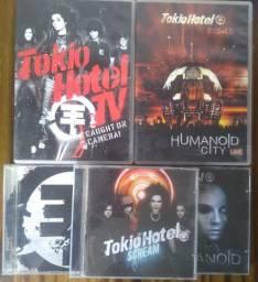 Kit CDs e DVDs Tokio Hotel