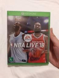 NBA Live 18 Xbox One ( Mídia física) -Jogo lacrado, usado comprar usado  Valparaíso de Goiás