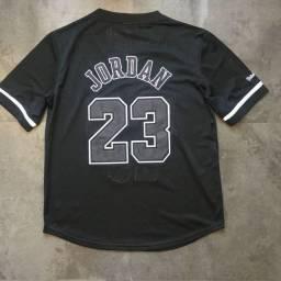 Camisa Basquete Chicago Bulls Preta 23 Jordan