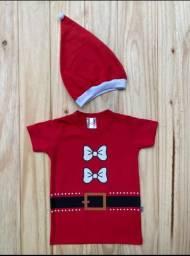 Camiseta infantil de Natal