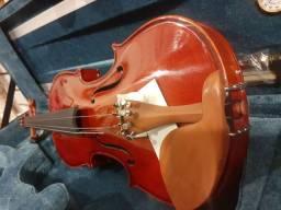 Violino 4/4 Madeira maciça rajada (12×)