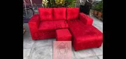 Sofá Chaise em até 10x direto de fábrica
