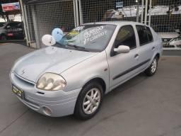 Clio 1.0 sedan 2003 completo