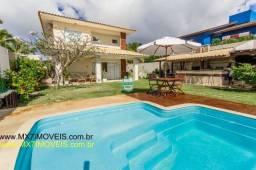 Linda casa de praia com 4 grandes suítes, no condomínio Parque do Jacuípe