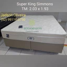 Título do anúncio: Super king Simons tecido em malha Belga